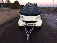 Smart car......Motorhome tow car