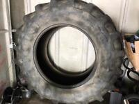 Tractor tyre gym use