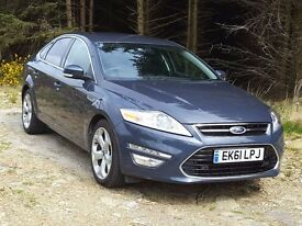 (YouTube Video) Very Low Mileage Ford MONDEO Titanium-X 2.0 TDCi PowerShift, Leather, Cruise, Cli..