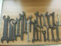 Metal tools and tool box