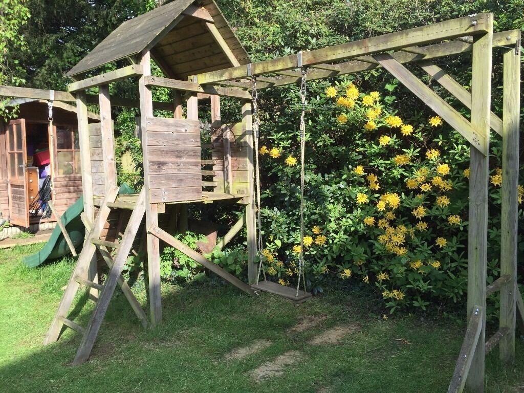 dunster house swing monkey bars pay house slide free in epsom