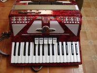 Bavcavole Majestic Piano Accordion 34 treble 72 base.
