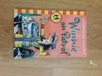 Winnie on petrol book