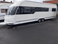 2012 HOBBY 720 PREMIUM TWIN AXLE 5/6 BERTH TOURING CARAVAN