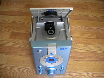 (RCA  RK1248 PORTABLE CD+G KARAOKE  SYSTEM WITH BUILT-IN CAMERA)