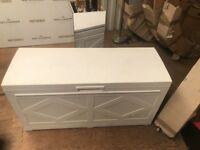 White Plastic Storage Chest- Price Reduced £15