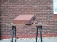 Reclaimed Terracotta Angled Coping Stones