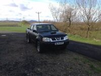 NISSAN NAVARA 4X4 TRUCK DOUBLE CAB D22 WITH YD25 ENGINE DRIVES WELL