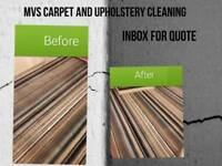Mvs carpets and upholstery cleaning