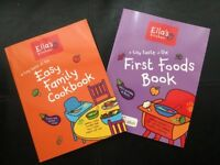 Two Brand New Ella's Kitchen Weaning Books