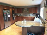 Kitchen with Solid Wood Doors, Granite Worktops and Appliances