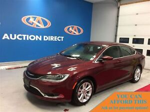2016 Chrysler 200 Limited, HEATED SEATS, BLUETOOTH, FINANCE NOW!