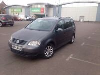 VOLKSWAGEN TOURAN MANUAL DIESEL 7SEATER QUICK SALE OFFERS