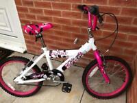 18 inch avigo breeze bmx bike