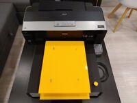 DTG T-SHIRT PRINTER Epson R1900 Modified A3