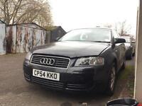 **BREAKING** Audi A3 2004 1.6 black LZ9W