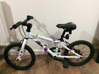 "Kid's Frog bike 16"" wheels very good condition"
