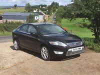 2009 Ford Mondeo 2.2 TDCi Titanium X, 12 Months Mot, Panther Black, Heated Half Leather