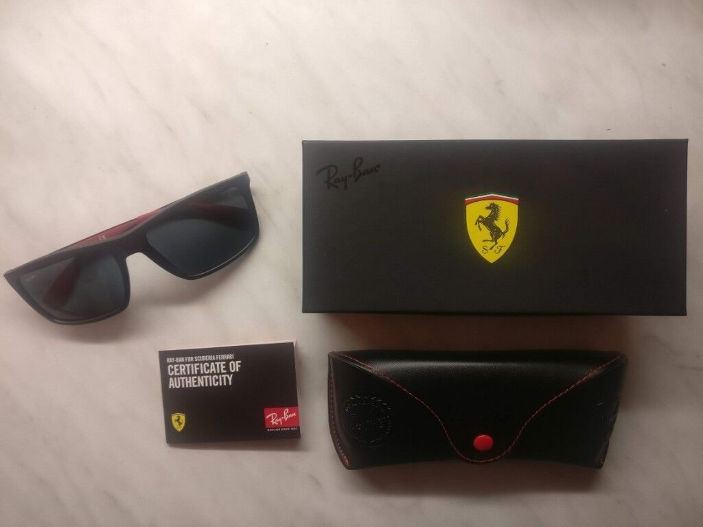 c828c4afd3 New and Genuine Ray-Ban RB4228M SCUDERIA FERRARI COLLECTION