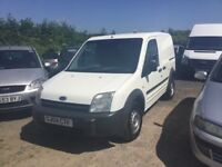 2004 FORD TRANSIT CONNECT SIDE LOADER REAR SHELFS BULKHEAD NICE CLEAN VAN 1 YRS MOT PX WELCOME