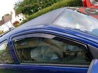 Corsa C hako wind deflectors 3 door