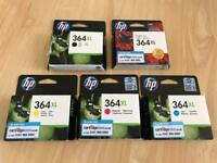Original HP 364XL Printer Cartridges.