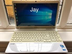 i3 6GB Ram Fast Sony Vaio HD Laptop 320GB,Window10,Microsoft office,Ready,Excellent condition
