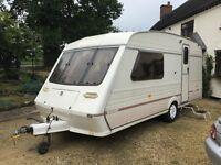 Fleetwood Colchester 2 Berth touring caravan.