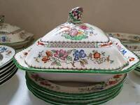 China Rose Spode set