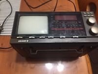 AKASHI mini TV/Radio (analogue), full working order