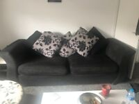 4 seater swivel chair one seater and foot stool
