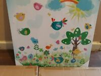 Baby canvas 3 left