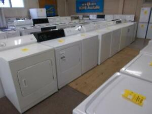 Large selection of washers and dryers. 90 day warranty.