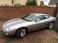 Jaguar XK8 Coupe 4.0L V8 Platinum Silver