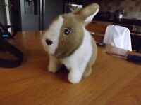Battery Operated Hopping Bunny Rabbit - Great Condition and Ideal for Christmas