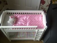 Dolls Bunk Bed suitable for American Girl Dolls