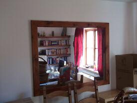 Dining room/Living Room Mirror 138cm x 107cm £40