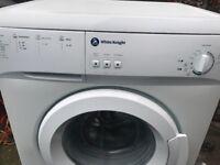 White knight washing machine free delivery