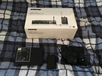 Shure PSM200 Wireless In Ear Monitor System, very good condition