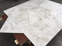 Silver cloud marble tiles size 457x457x12mm