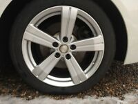 BMW 5 Series Winter Alloy Wheels and Tyres