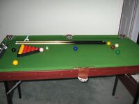 Debut Omega 4ft 6ins Junior Snooker/Pool Table
