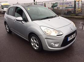 2011 CITROEN C3 CONNEXION 1.4 HDI SILVER 1 OWNER FROM NEW FULL SERVICE HISTORY