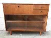 Vintage teak Bureau/Bookcase by Avalon