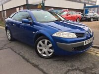 "RENAULT MEGAN 1.5 DCI """"07 PLATE 6 SPEED MANUAL !!!CONVERTIBLE!!!"
