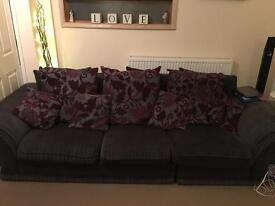 Lrge 3 seater sofa