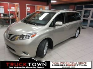 2015 Toyota Sienna FULLY LOADED XLE-HEATED LEATHER-NAV