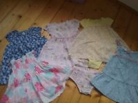 Baby girl 6-9 months clothing bundle 40+ items, shoes, dresses, see all items pictured