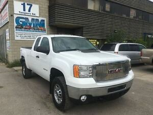 2013 GMC SIERRA 2500HD WT Extened Cab Short Box 4X4 Gas