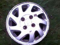 Honda alloy wheels